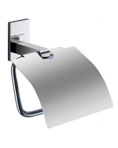 Maine Range - Toilet Roll Holder with Flap - Polished Chrome
