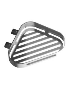 S5 Fahrenheit Range - Corner Shower Basket - Polished Stainless Steel