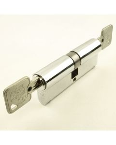 10 Pin - Euro Profile Cylinders - Mid Level Security - Key / Key - Polished Chrome