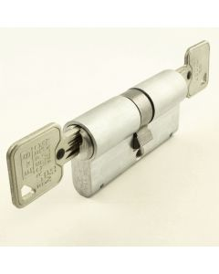 10 Pin - Euro Profile Cylinders - Mid Level Security - Key / Key - Satin Chrome