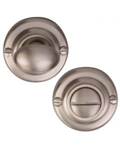 Thumbturn & Release To Suit Mortice Knobs - Satin Nickel