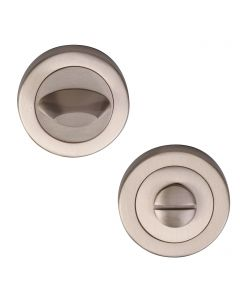 Contemporary Thumbturn & Release - Satin Nickel