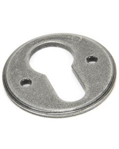 Regency Euro Profile Escutcheon - Face Fixed - Pewter