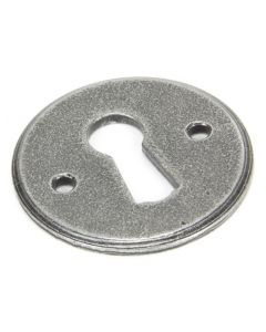 Regency Standard Profile Escutcheon - Face Fixed - Pewter