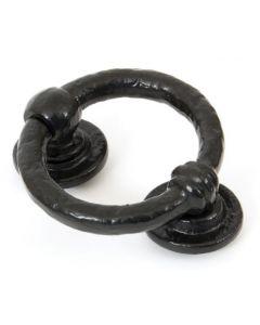 Ring Door Knocker - Black