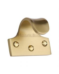 Sash Lift - Satin Brass