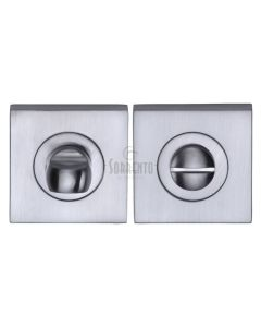 Square Turn & Release Set - Satin Chrome - Set