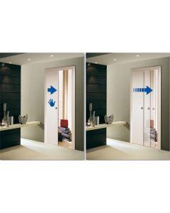 Scrigno Soft Close Damper Mechanism For Glass Doors - Minimum Door Width 700mm - For Doors Up To 35kg In Weight