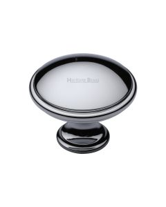 Shaker Style Cupboard Knob - Available In Two Sizes - Polished Chrome
