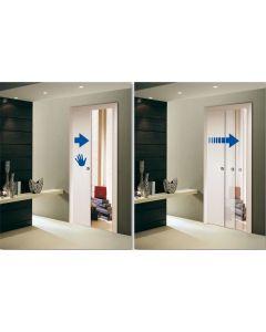 Soft Close Damper To Suit Scrigno Adjustable Pocket Door Kit - Max Door Weight 35kg