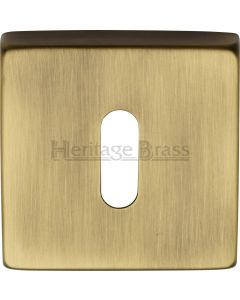Standard Profile Escutcheon - Light Antique Brass