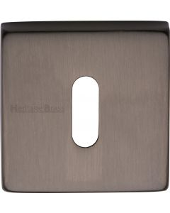 Standard Square Profile Escutcheon - Matt Bronze