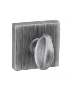 Square Shape Bathroom Turn & Release Set - Urban Graphite - Turn Section