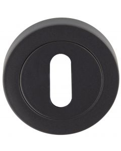 Standard Profile Escutcheon - Matt Black