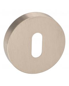 Standard Profile Escutcheon - Minimal Design - 50mm x 10mm - Satin Nickel