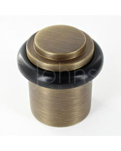 stepped-pattern-floor-mounted-door-stop-40mm-x-38mm-antique-brass