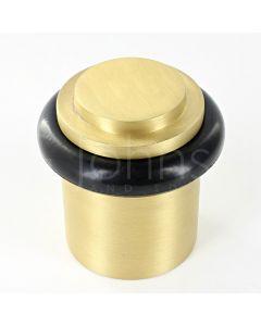 stepped-pattern-floor-mounted-door-stop-40mm-x-38mm-satin-brass
