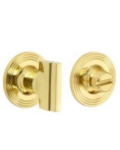 Stepped Turn And Release On Reeded Edge Covered Rose