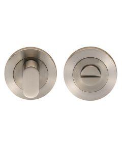 Bathroom Turn & Release Set - Satin Stainless Steel