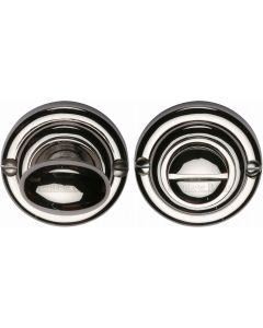 Thumbturn & Release To Suit Mortice Knobs - Polished Nickel - Each