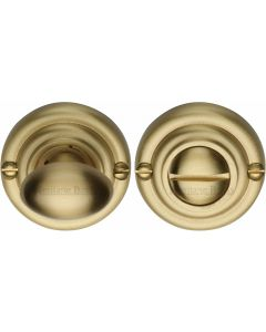 Thumbturn & Release To Suit Mortice Knobs - Satin Brass - Each