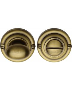 Thumbturn & Release To Suit Mortice Knobs - Antique Brass - Each