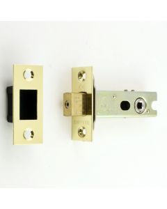 Tubular Mortice Deadbolt With 5mm Follower - PVD Brass