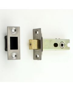 Tubular Mortice Deadbolt With 5mm Follower - Satin Stainless Steel - (Brushed Finish)