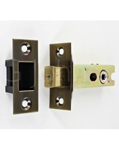 Architectural Quality Tubular Mortice Deadbolt With 5mm Follower - CE Marked - Fire Rated - Certifire Aprroved - Antique Brass