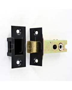 Architectural Quality Tubular Mortice Deadbolt With 5mm Follower - CE Marked - Fire Rated - Certifire Aprroved - Matt Black