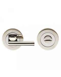 Disabled Large Bathroom Turn & Release Set - Dual Finish Satin & Polished Stainless Steel