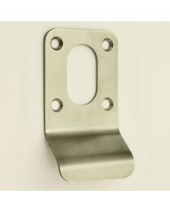 Oval Profile Cylinder Pull - Satin Stainless Steel