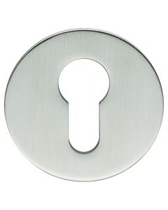 Euro Profile Escutcheons - Ultra Thin 3mm Rose - Satin Stainless Steel