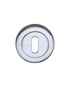 Standard Profile Round Escutcheon - Polished Chrome
