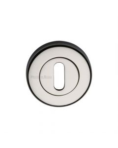 Standard Profile Round Escutcheon - Polished Nickel