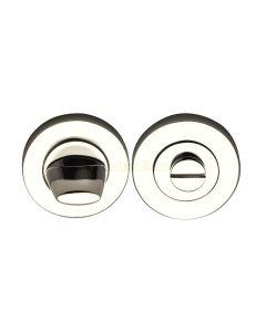 Bathroom Turn & Release Set - Polished Nickel