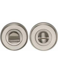 Round Turn & Emergency Release Cylinder Set - Satin Nickel
