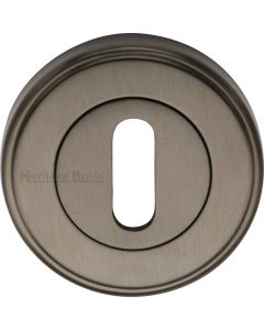 Standard Round Profile Escutcheon - Matt Bronze