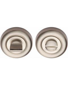 Round Turn & Release Cylinder Set - Satin Nickel