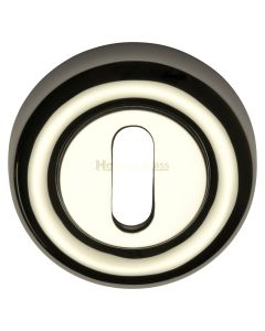 Standard Round Profile Escutcheon - Polished Nickel