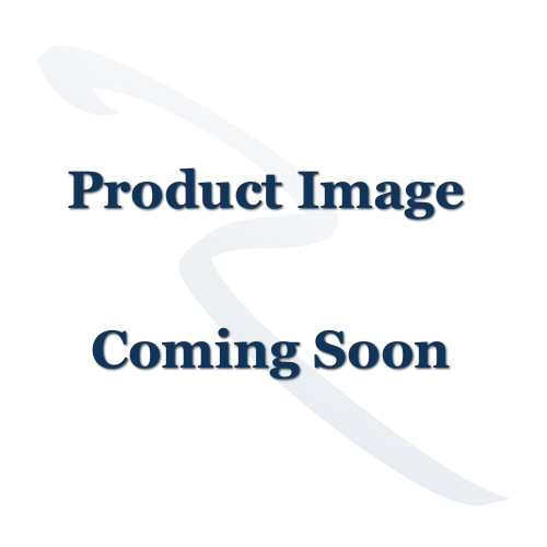 Plain Letter Plate - 254mm x 79mm - Satin Brass