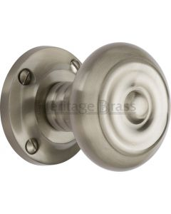 Aylesbury Mortice Knobs - Satin Nickel