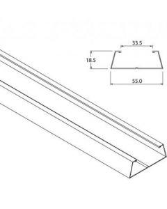 Wall Reinforcing Kit For Adjustable Pocket Door Kits - (4 x 3000mm Lengths)