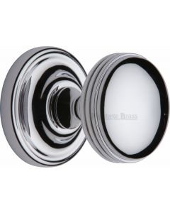 Whitehall Round Mortice Knobs - Polished Chrome