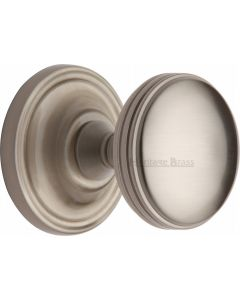 Whitehall Round Mortice Knobs - Satin Nickel