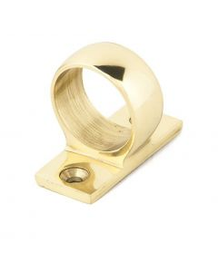 Window Sash Ring - Polished Brass Unlacquered