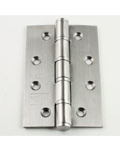 Narrow Leaf - Grade 7 Fire Rated Hinges - Satin Stainless Steel - 102mm x 67mm