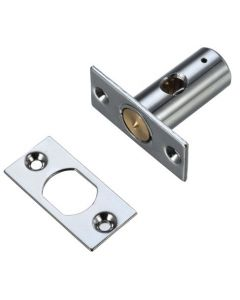 Security Rack Bolt For Wooden Windows - 37mm Long - Polished Chrome Finish