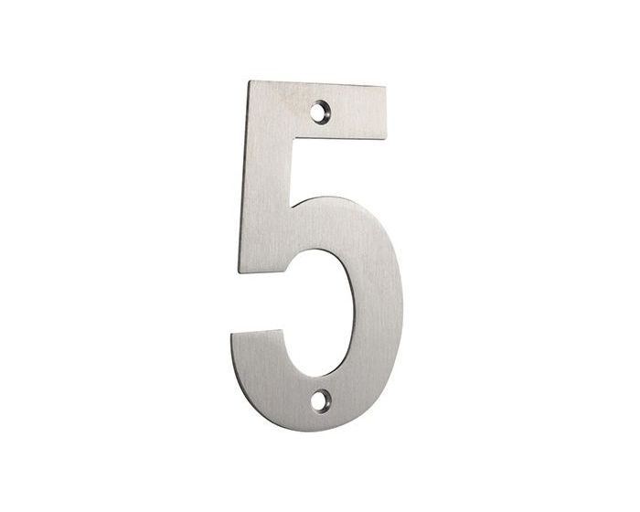 Door 9 ** Stainless Steel 10cm Tall Building House Number SCREW FITTING ** No