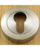 Euro Profile Escutcheon - Satin Stainless Steel